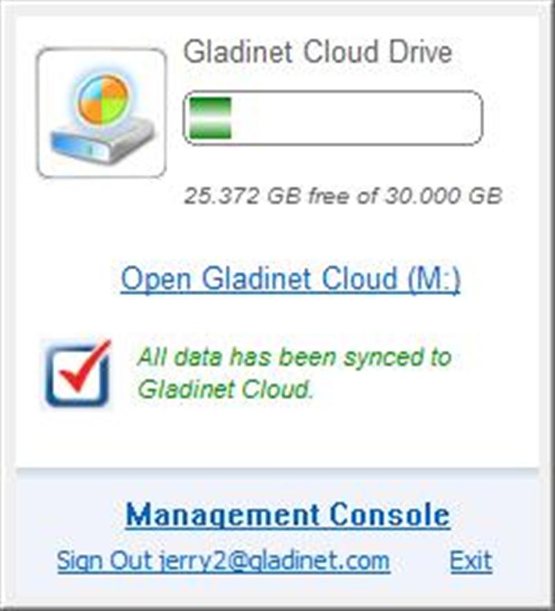Google Cloud Storage - Windows Desktop Access