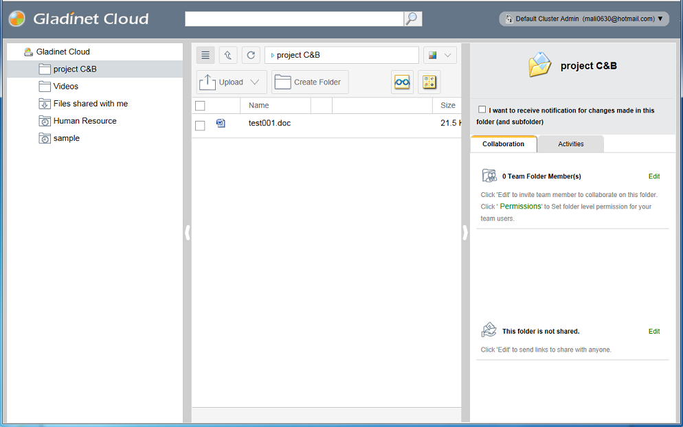 Cloud Desktop Professional Edition Screenshot